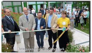 Inaugurazione Parco Scientifico